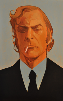 Michael Caine by Phil Noto