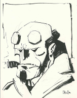 Hellboy by Andy Kuhn