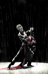Greg Capullo's enticing and poised picture is gracing the cover of Batman #17.