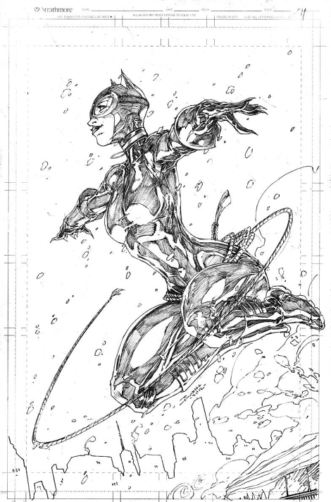 Brett Booth's Catwoman