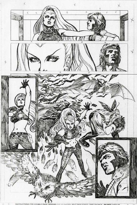 Mutant X by Colleen Doran