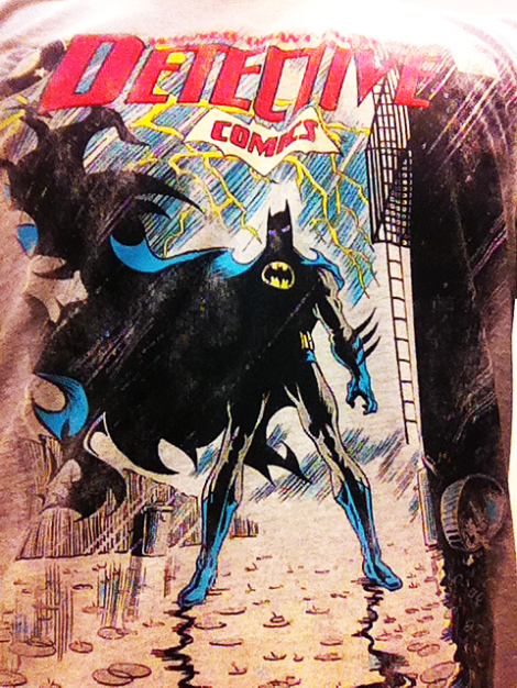My new T-Shirt with Norm Breyfogle Batman!