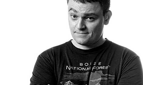 The man himself: Scott Snyder.