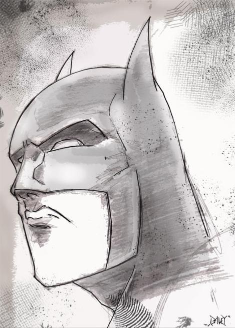 @ShawnDaley draws Batman. I wish I could draw Batman.